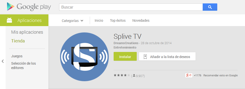 descargar splive tv